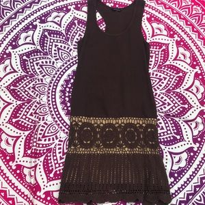 Knitted Moda International Tank Dress